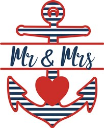 Mr & Mrs print art