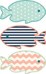 Fish Border print art