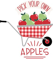 Pick Your Own Apples print art