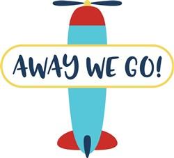 Away We Go print art