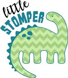 Little Stomper print art