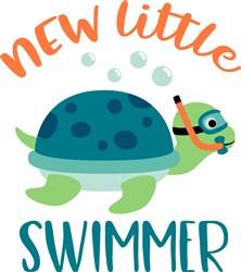 New Swimmer print art