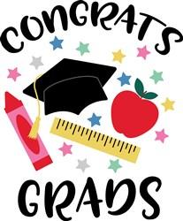 Congrats Grads print art