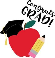 Congrats Grad! print art