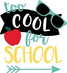Too Cool For School print art