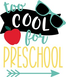 Too Cool For Preschool print art