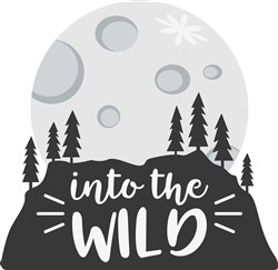Into The Wild print art