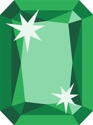 Emerald May Birthstone print art