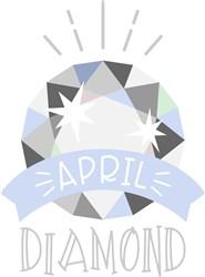 April Birthstone print art