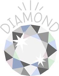 Diamond Birthstone print art
