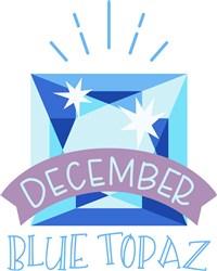 December Birthstone print art