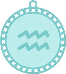 Aquarius Zodiac Sign print art