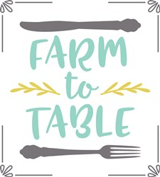 Farm To Table print art