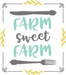 Farm Sweet Farm print art