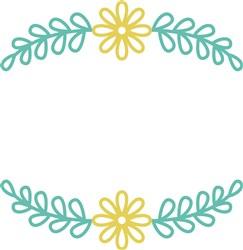 Flower Frame print art