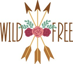 Wild And Free print art