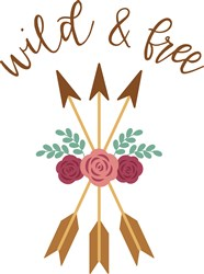 Wild And Free Roses print art