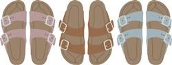 Birkenstock Hippie Sandals print art