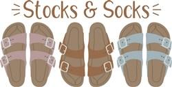 Stocks & Socks print art