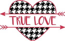 True Love Valentine print art