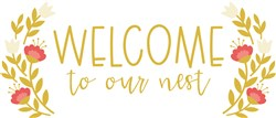 Welcome To Nest print art