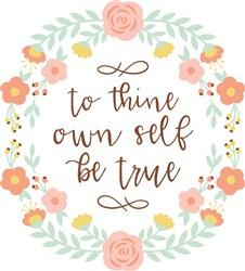 Be True print art