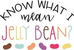 Jelly Bean print art