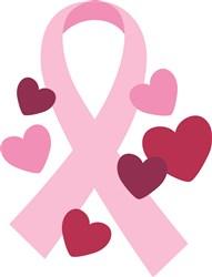 Breast Cancer Ribbon print art