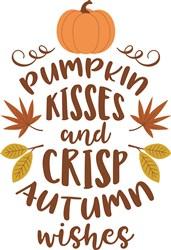 Pumpkin Kisses print art