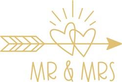 Mr and Mrs print art