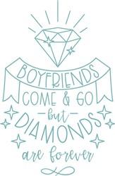 Diamonds Forever print art