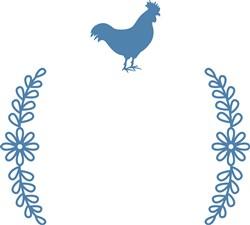 Chicken Frame print art