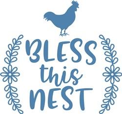 Bless This Nest print art