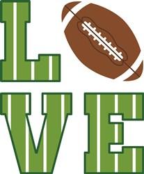 Love Football print art