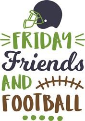 Friday Friends & Football print art