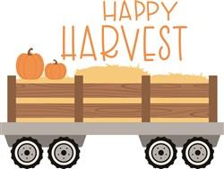 Happy Harvest print art