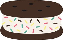 Ice Cream Sandwich print art