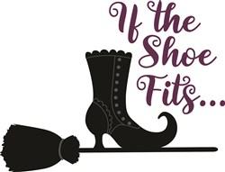 If The Shoe Fits print art