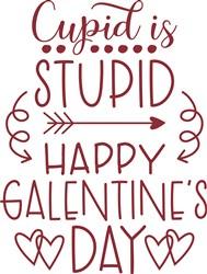 Happy Galentines Day print art