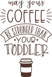 Strong Coffee print art