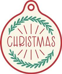 Christmas Gift Tag print art