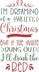Dreaming Of White Christmas print art