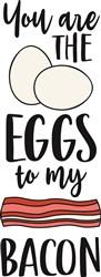 Eggs To My Bacon print art