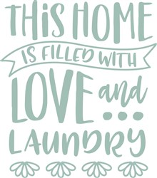 Love & Laundry print art