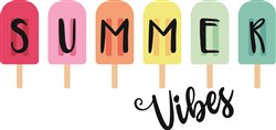 Summer Vibes Popsicle print art