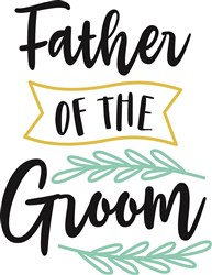 Father Of The Groom print art