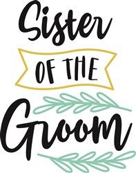 Sister Of The Groom   print art