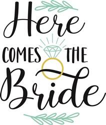 Here Comes The Bride print art