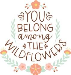 The Wildflowers print art