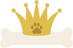 Royal Dog Bone print art